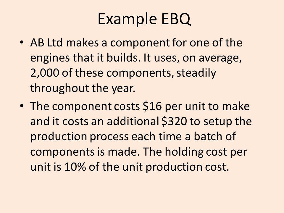 Example EBQ
