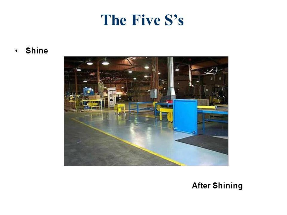 The Five S's Shine After Shining