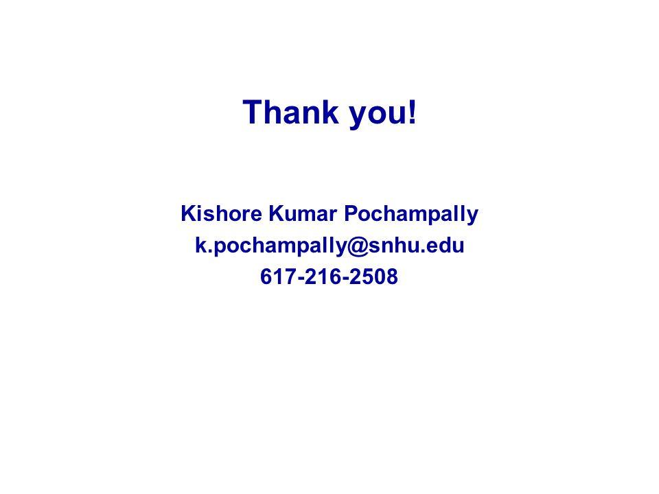 Kishore Kumar Pochampally
