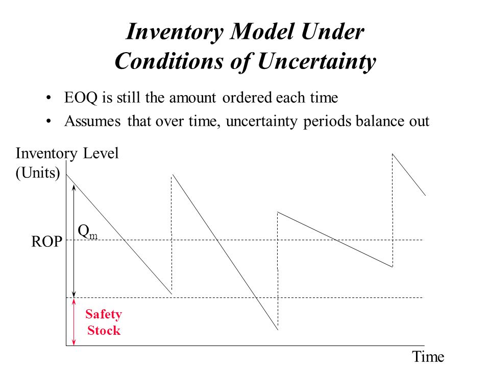 Inventory Model Under Conditions of Uncertainty