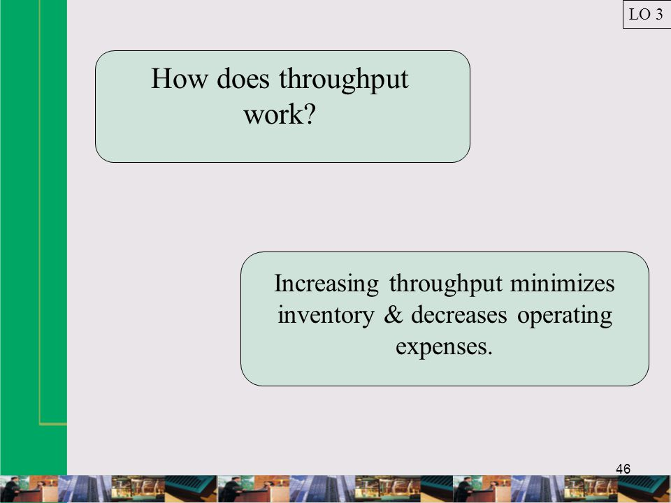 How does throughput work