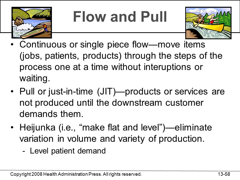 Flow and Pull