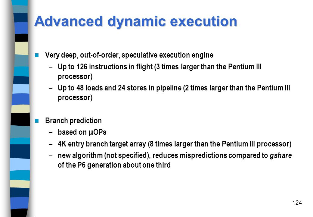 Advanced dynamic execution