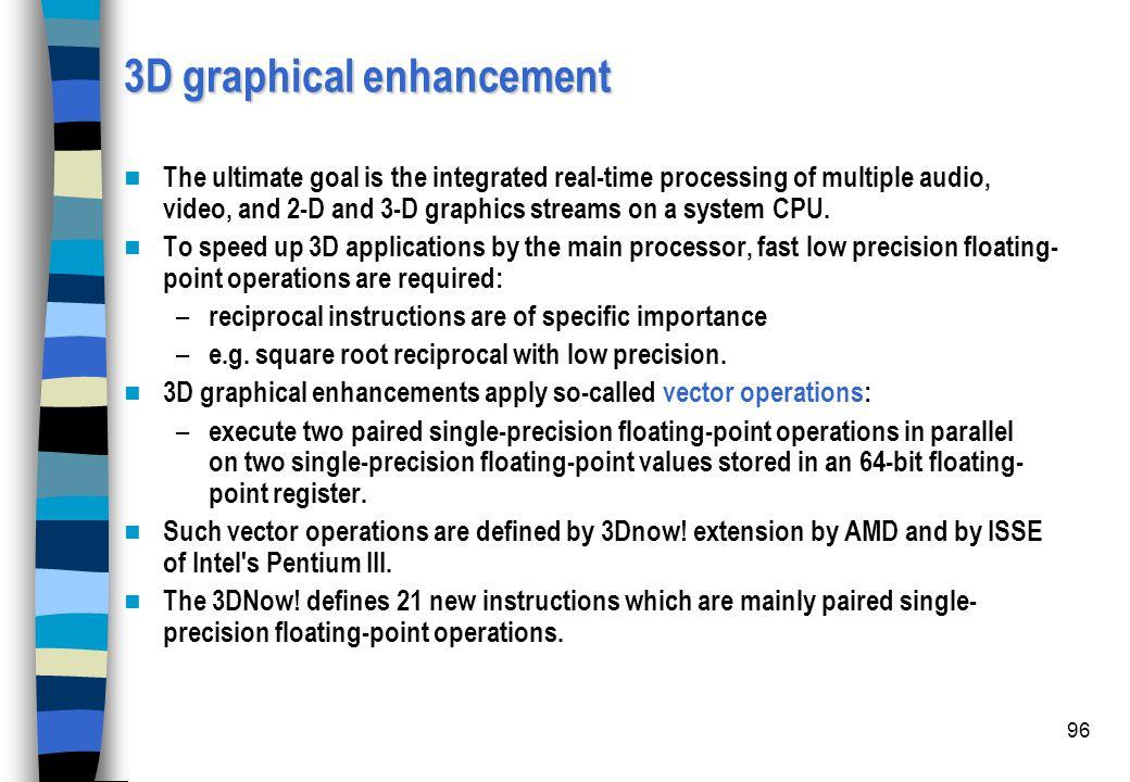 3D graphical enhancement