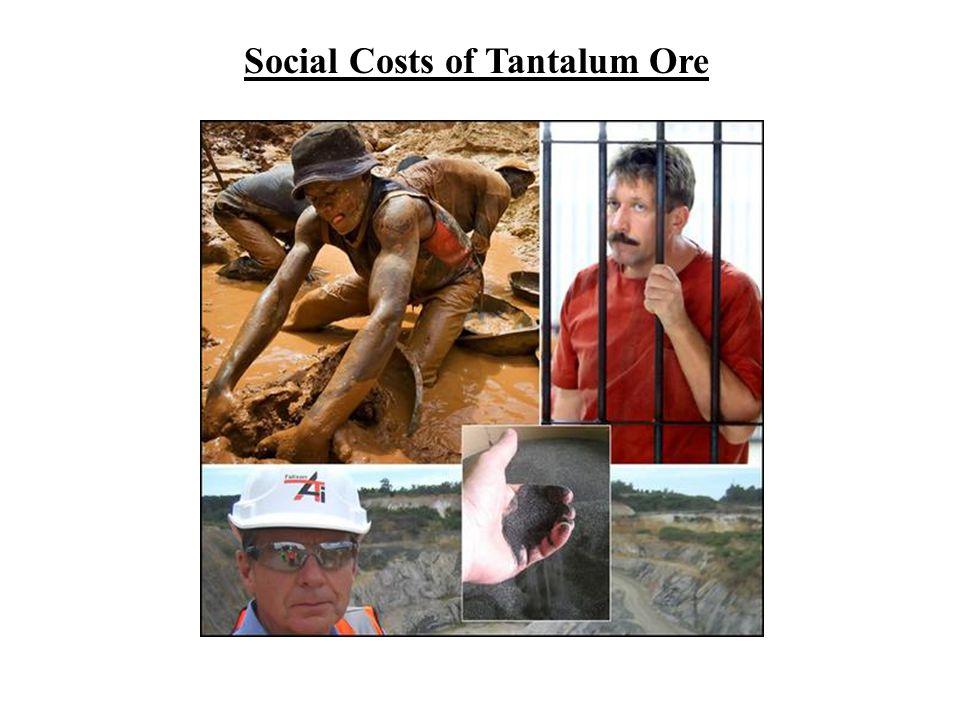Social Costs of Tantalum Ore