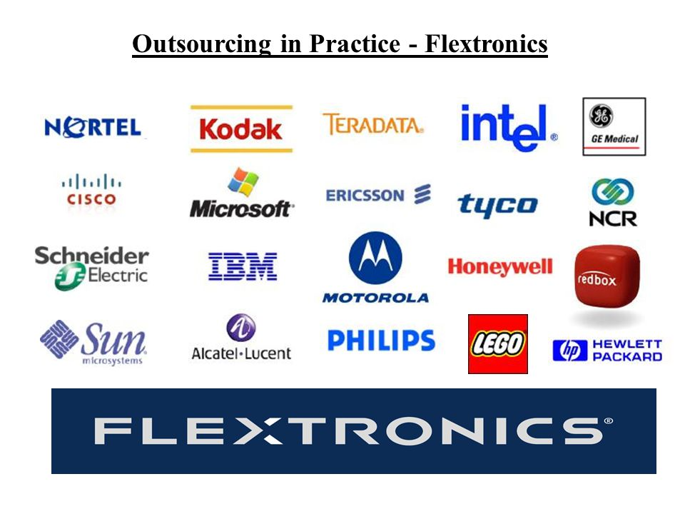 Outsourcing in Practice - Flextronics