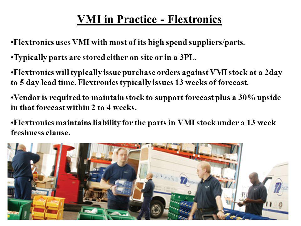 VMI in Practice - Flextronics