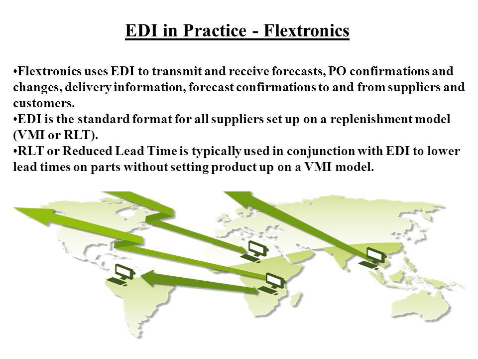 EDI in Practice - Flextronics