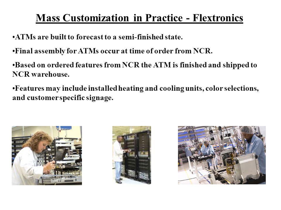 Mass Customization in Practice - Flextronics