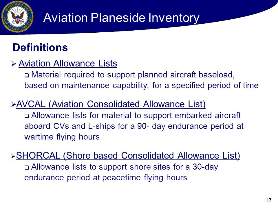 Aviation Planeside Inventory