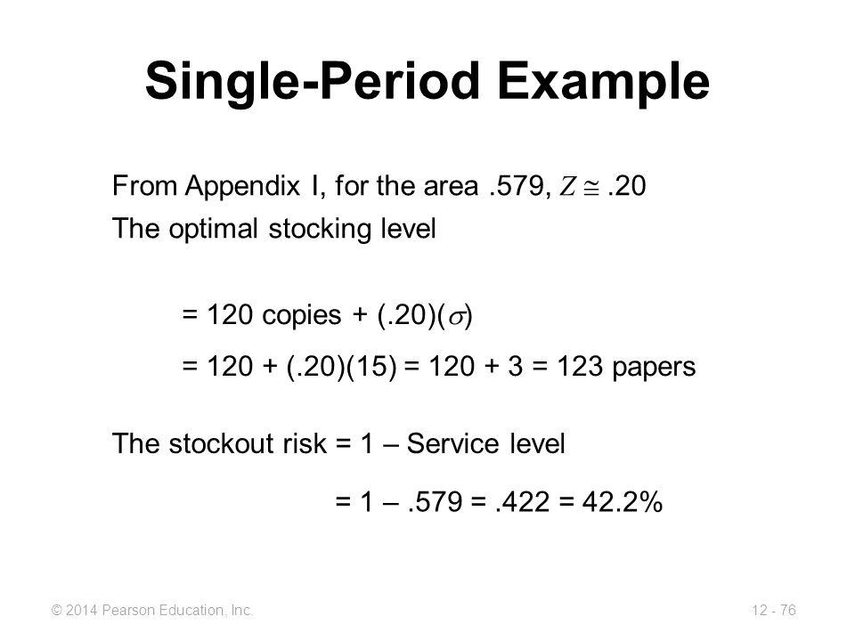 Single-Period Example