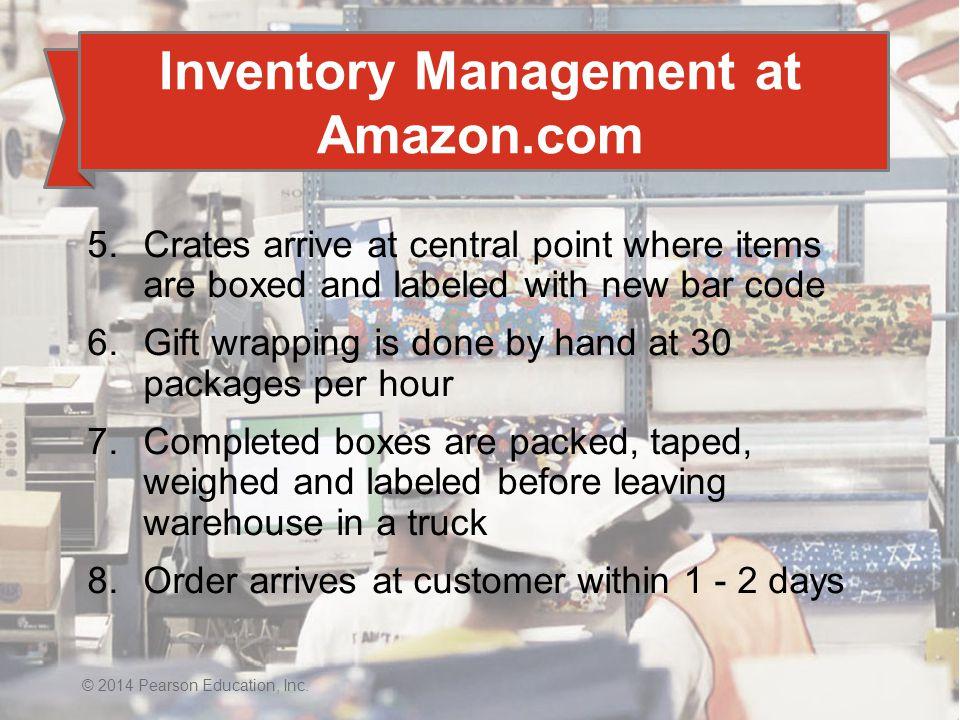 Inventory Management at Amazon.com