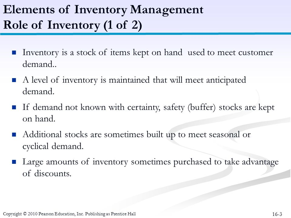 What Is The Role Of Safety Stock In An MRP System?