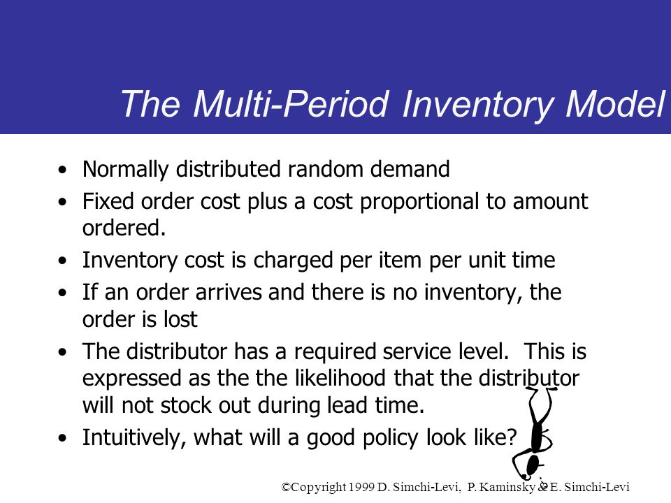 The Multi-Period Inventory Model
