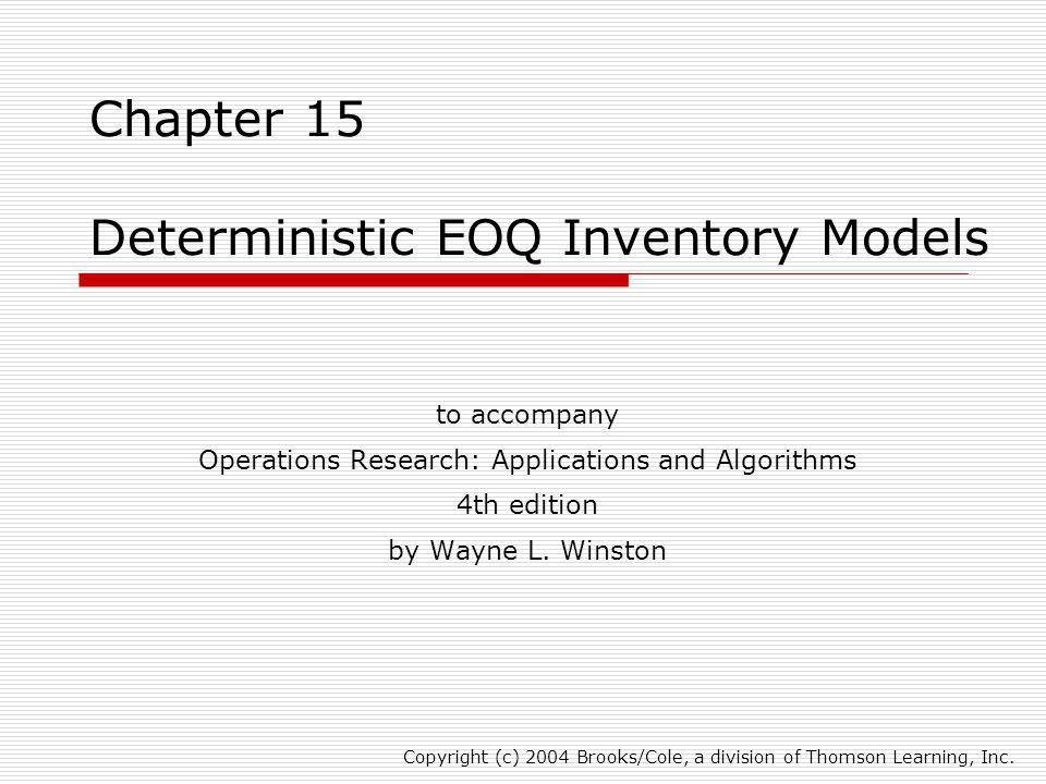 chapter 1 introduction of inventory system Chapter 2: inventory management 21 introduction 10 22 inventory management 31 introduction 32 32 understanding customer service use of a managerial system to coordinate inventory 120.