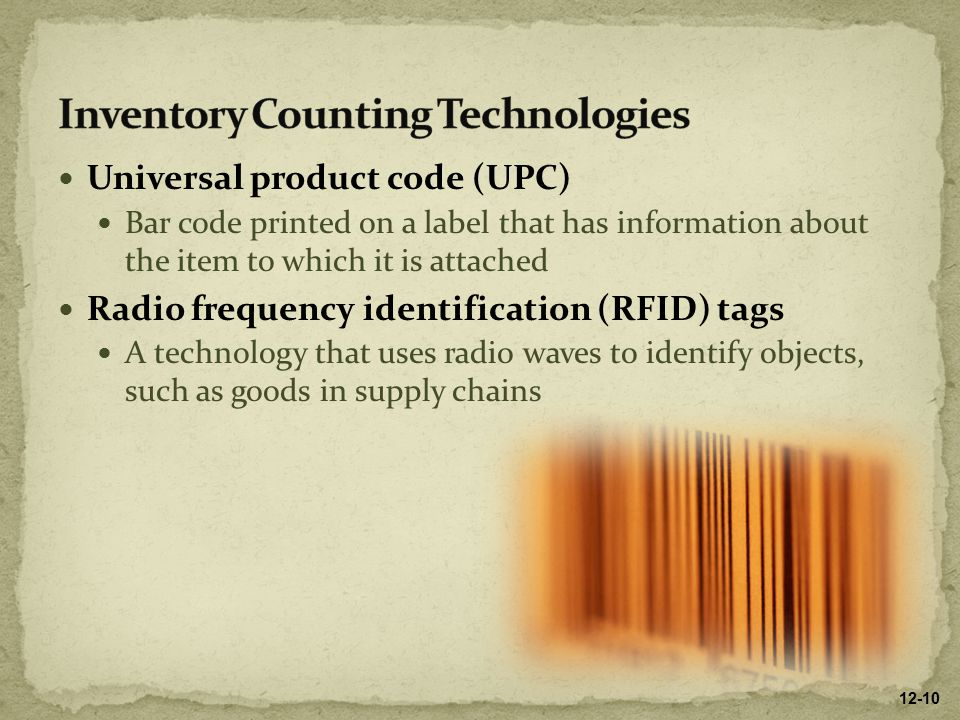 Inventory Counting Technologies