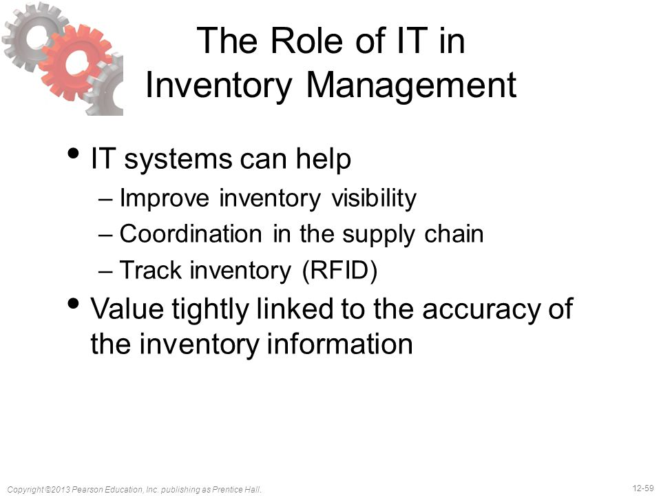 The Role of IT in Inventory Management