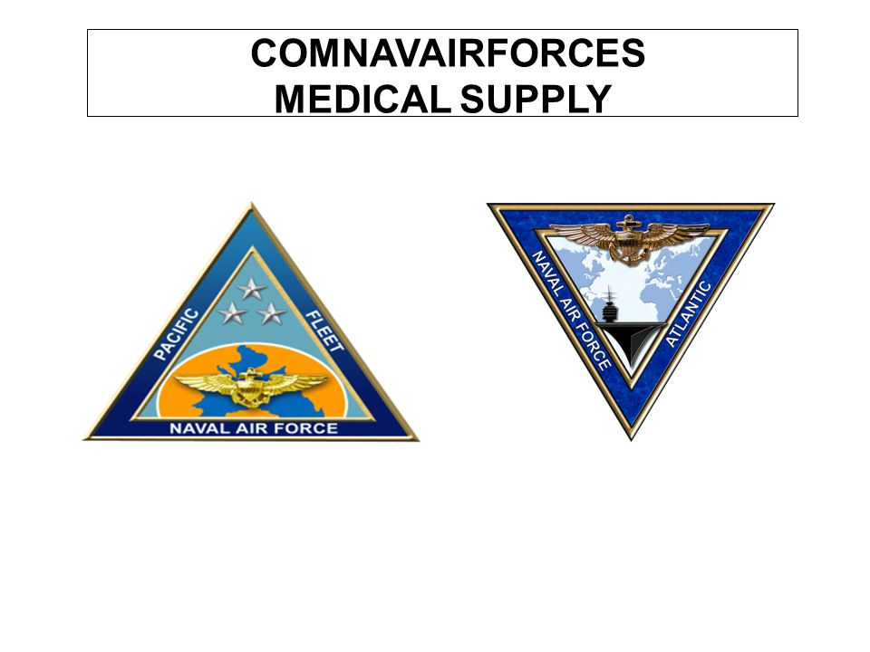 COMNAVAIRFORCES MEDICAL SUPPLY