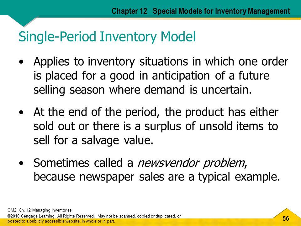 Single-Period Inventory Model