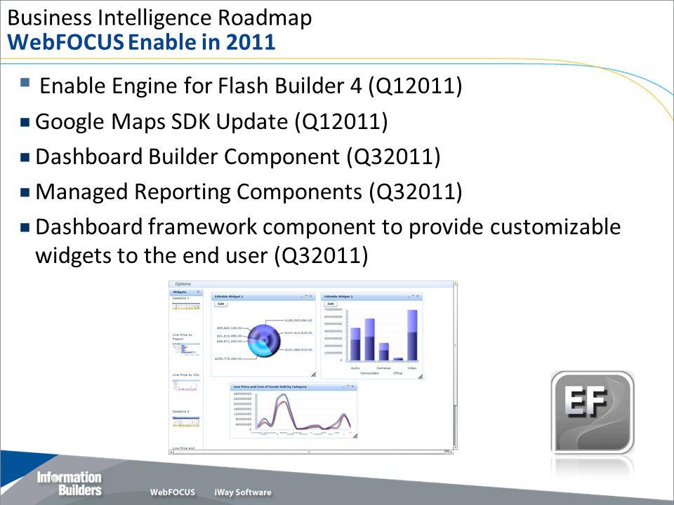 Business Intelligence Roadmap WebFOCUS Enable in 2011