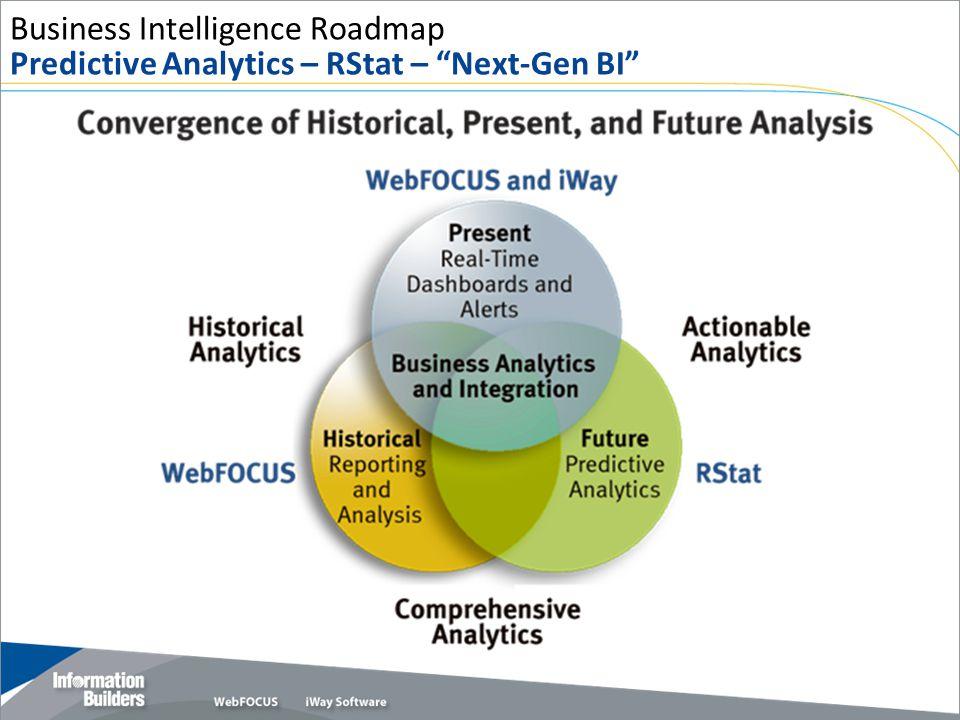 Business Intelligence Roadmap Predictive Analytics – RStat – Next-Gen BI