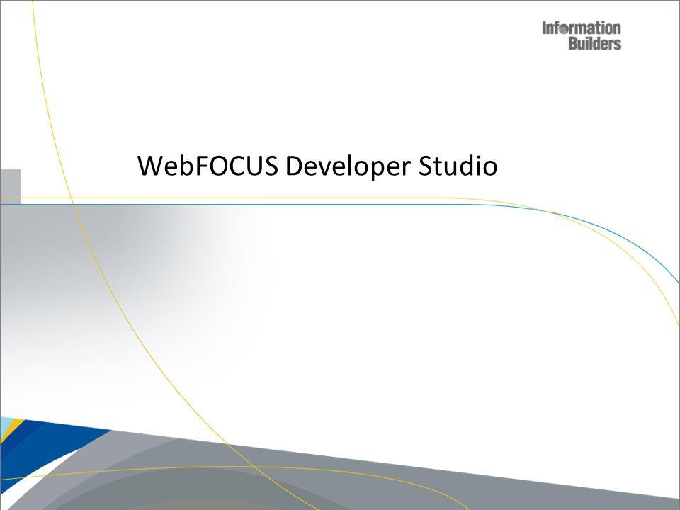 WebFOCUS Developer Studio