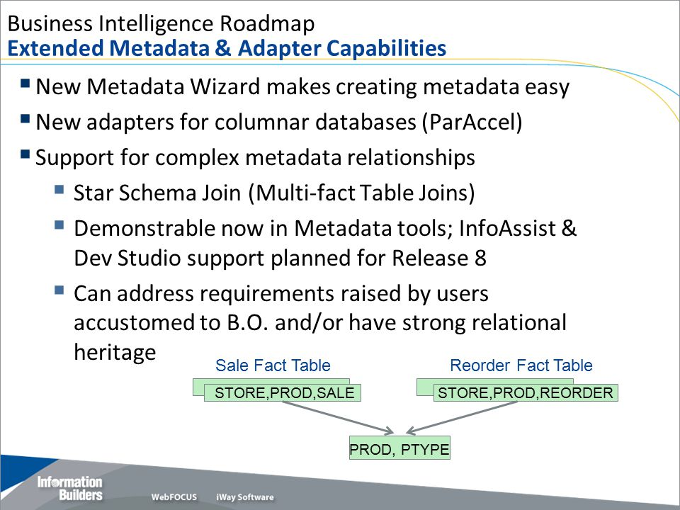 Business Intelligence Roadmap Extended Metadata & Adapter Capabilities