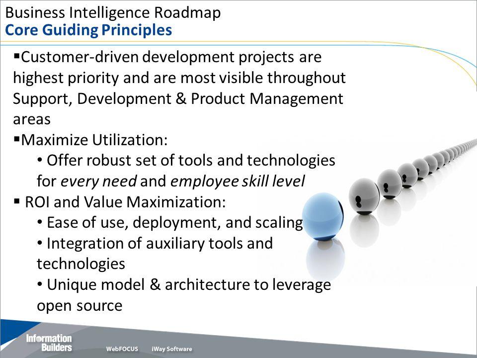 Business Intelligence Roadmap Core Guiding Principles