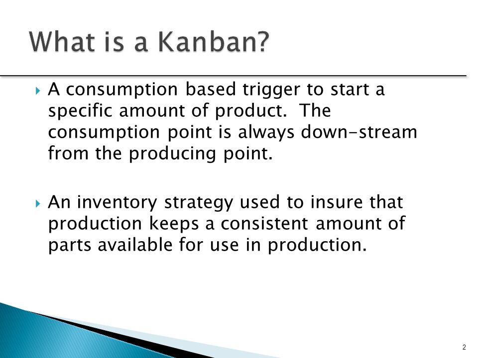 What is a Kanban