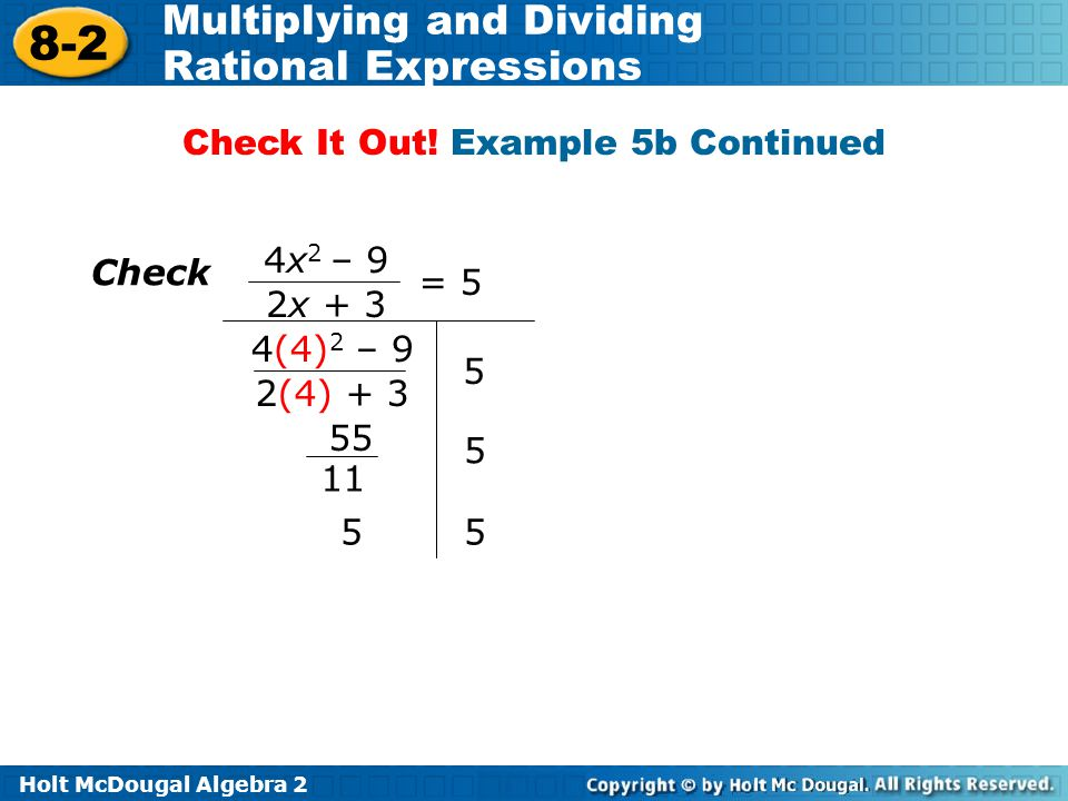 Check It Out! Example 5b Continued