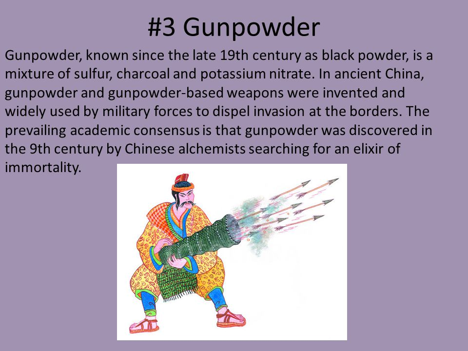 #3 Gunpowder