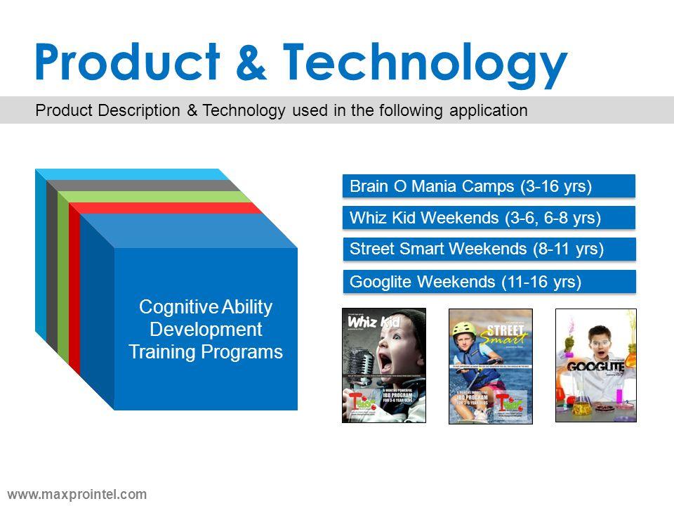 Product & Technology Cognitive Ability Development Training Programs