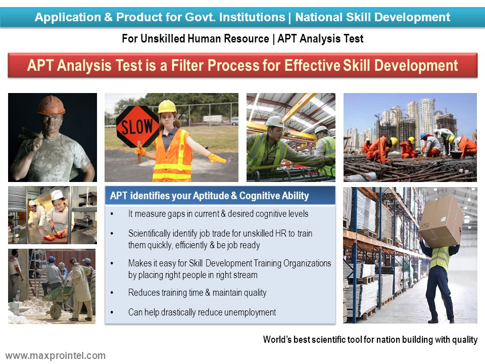 APT Analysis Test is a Filter Process for Effective Skill Development