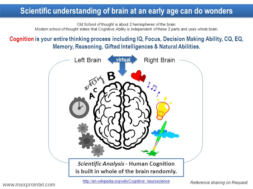 Scientific understanding of brain at an early age can do wonders