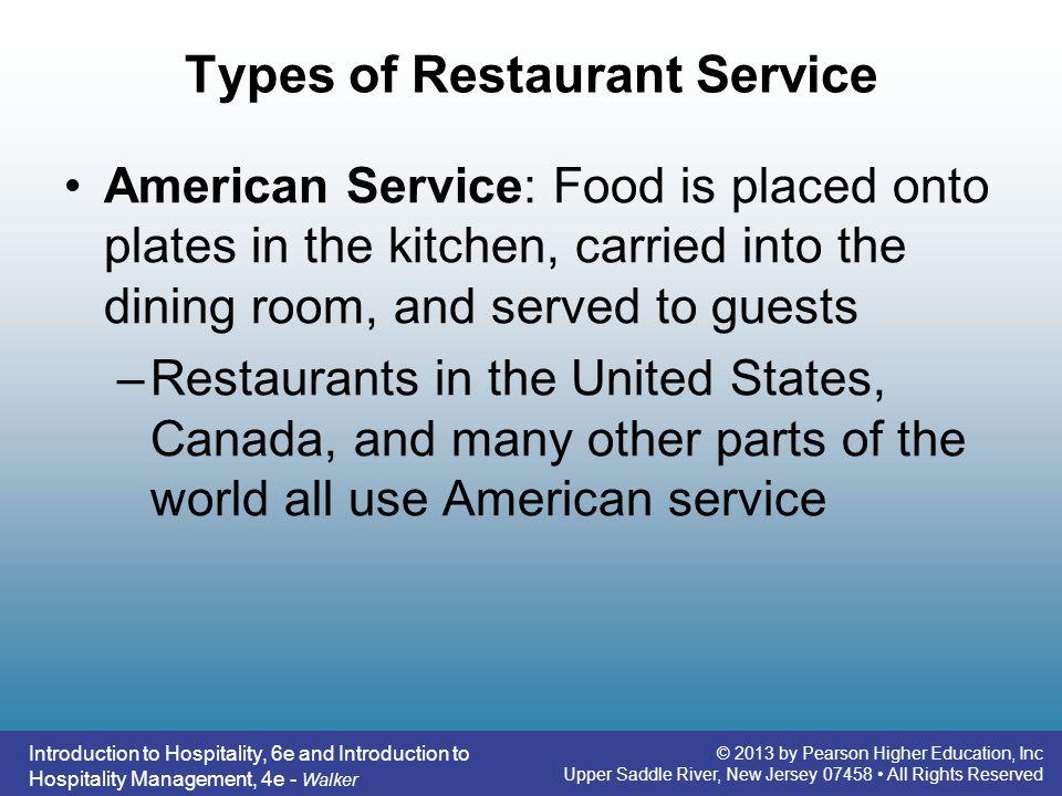 Types of Restaurant Service