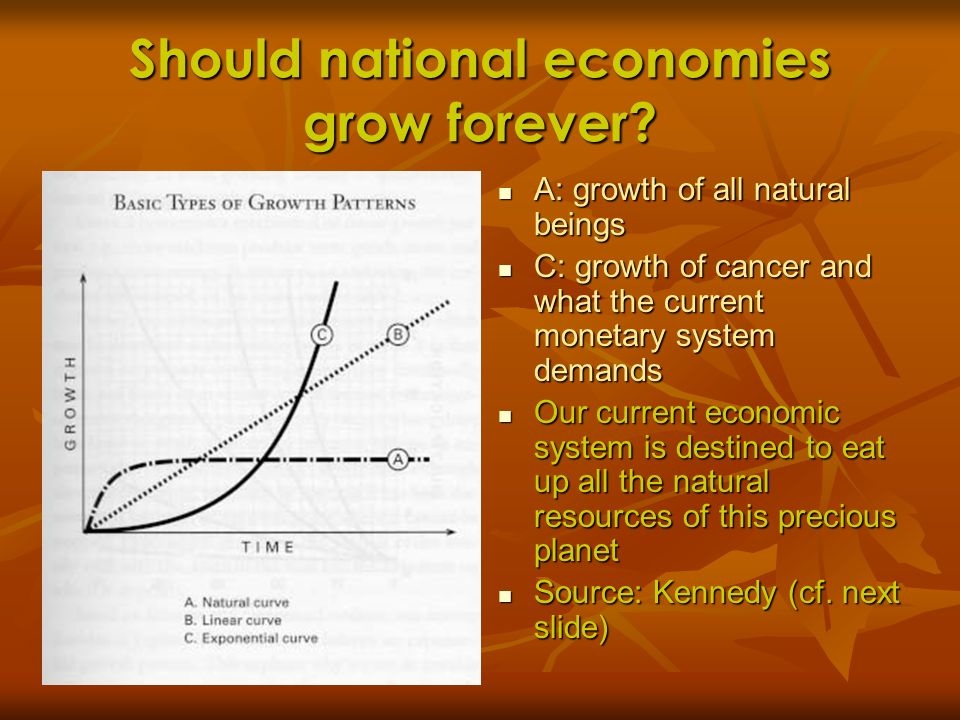 Should national economies grow forever