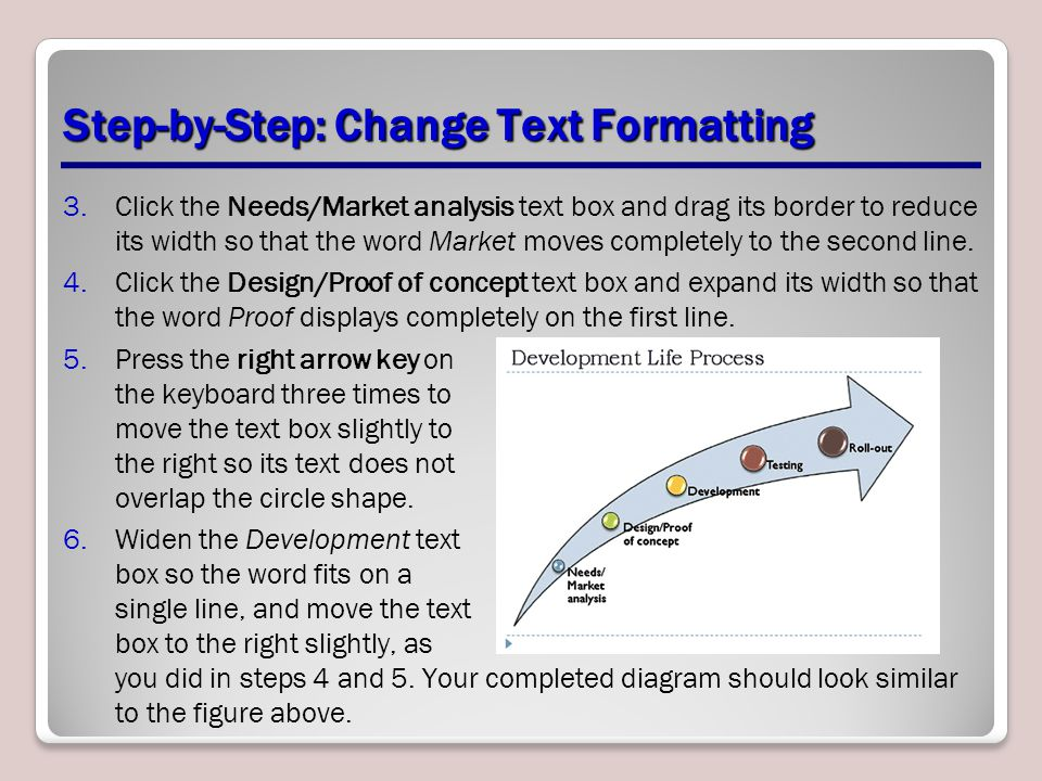 Step-by-Step: Change Text Formatting