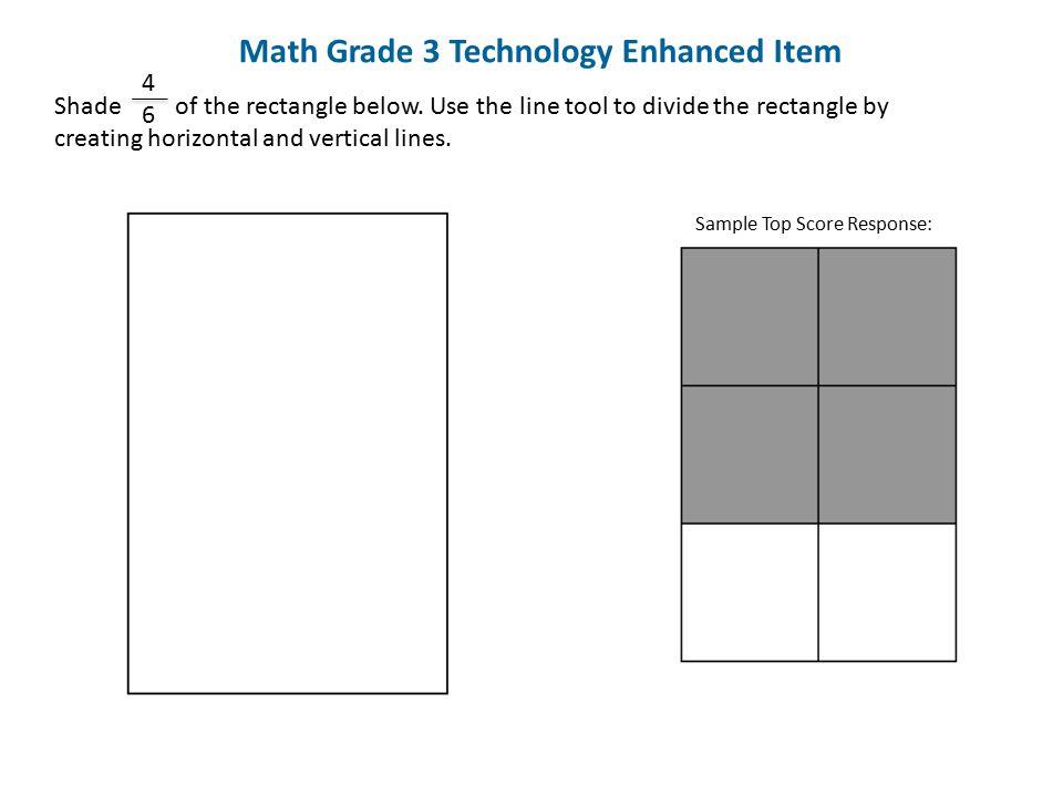 Math Grade 3 Technology Enhanced Item