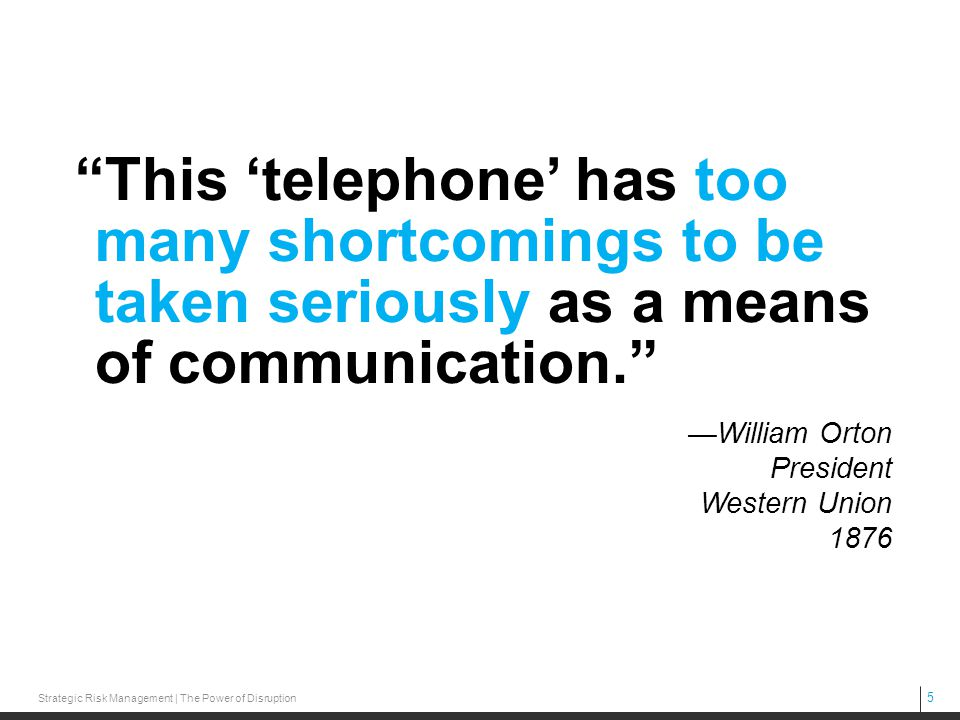 This 'telephone' has too many shortcomings to be taken seriously as a means of communication.