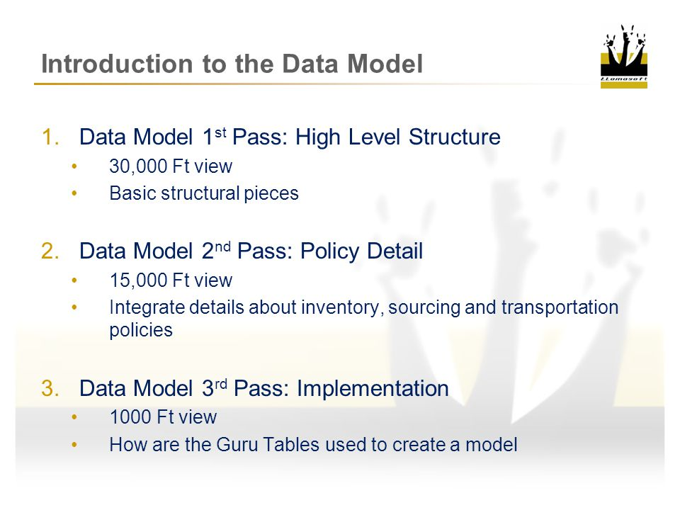 Introduction to the Data Model