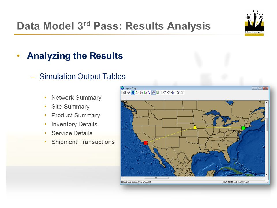 Data Model 3rd Pass: Results Analysis