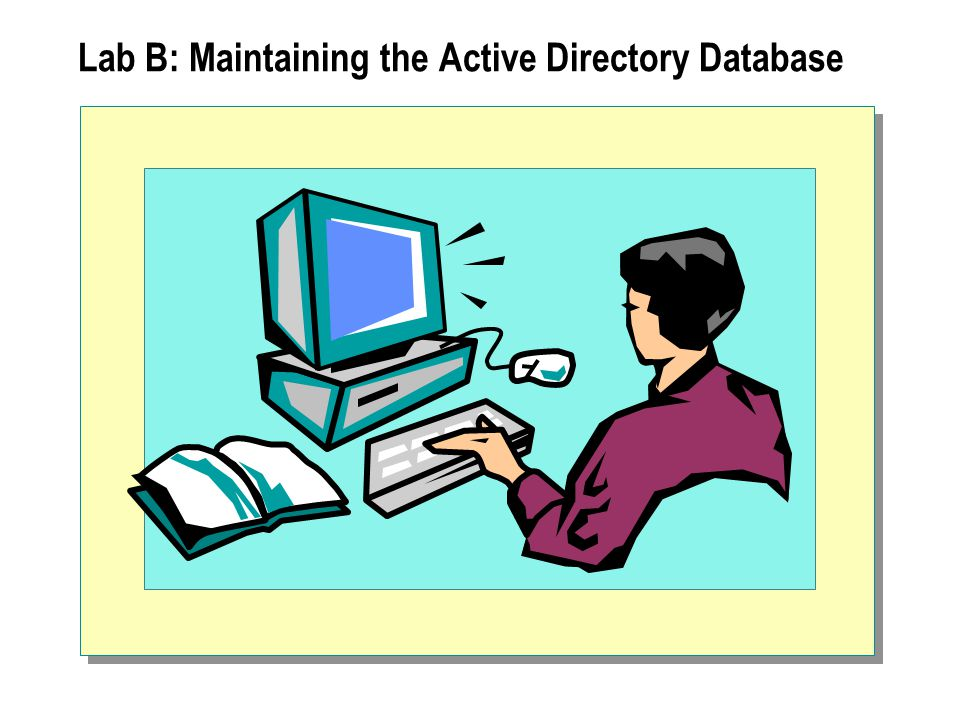 Lab B: Maintaining the Active Directory Database