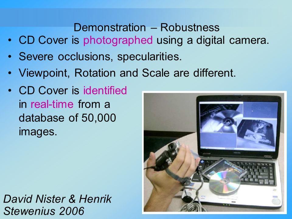 Demonstration – Robustness