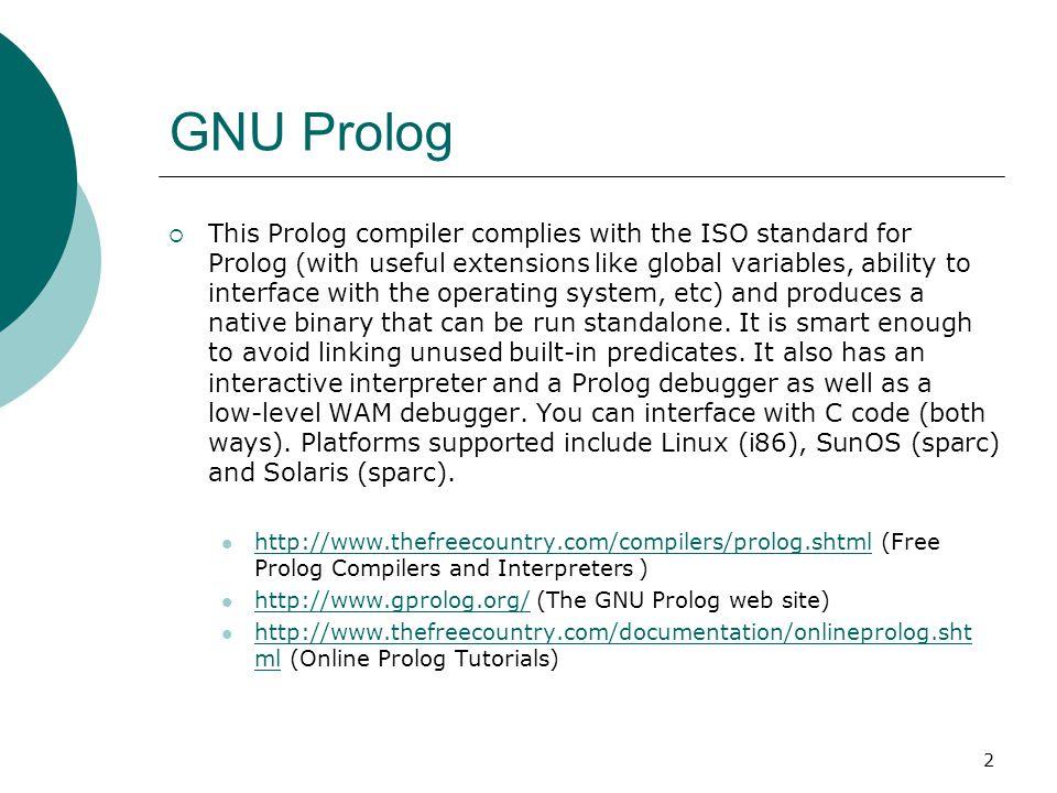 GNU Prolog