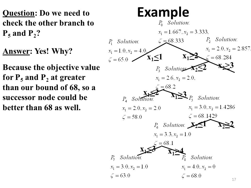 Example Question: Do we need to check the other branch to P5 and P2