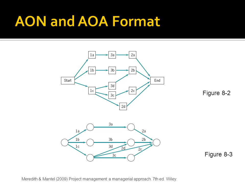 AON and AOA Format Figure 8-2 Figure 8-3