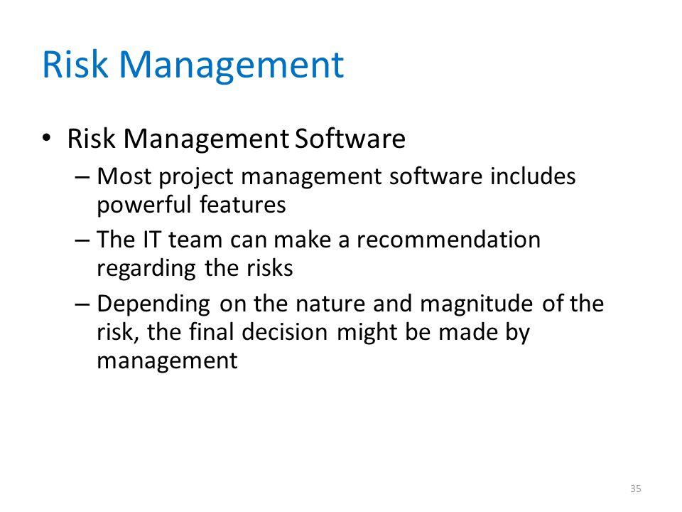Risk Management Risk Management Software