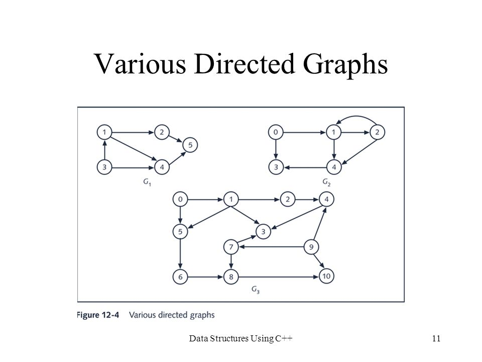 Various Directed Graphs