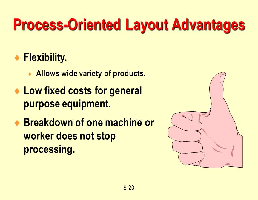 Process-Oriented Layout Advantages