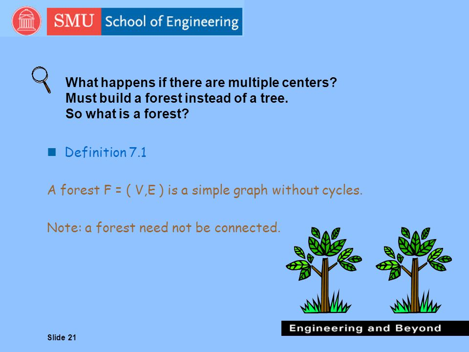 What happens if there are multiple centers